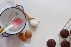 Bakery Theme Background Stock Images