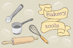Bakery Tools Stock Photos