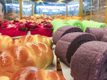 Bakery. Variety choice of bakery Stock Photos