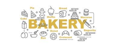 Bakery vector banner vector illustration