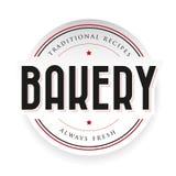 Bakery vintage logo stamp Royalty Free Stock Photo