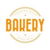 Bakery vintage logo stamp Stock Photo