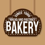 Bakery Vintage Sign Since 1980 Vector