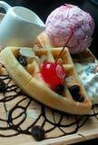 Bakery. Waffle of bangkok Stock Photos