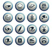 Bakery icon set. Bakery web icons for user interface design vector illustration