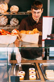 In a bakery Royalty Free Stock Photo