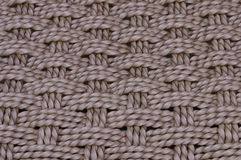 Baket weave close up. Weatherproof basket weave detail, suitable background or screensaver Royalty Free Stock Photo