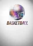 Baketball background Royalty Free Stock Photos
