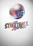 Baketball background Royalty Free Stock Images