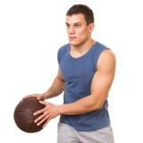 Baketball player Royalty Free Stock Photo