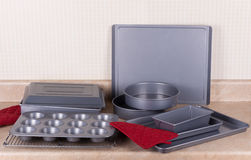 Bakeware Set Royalty Free Stock Photos