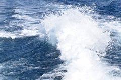 Bakewash hermoso en un paseo del barco Foto de archivo libre de regalías