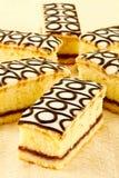 Bakewell蛋糕 库存图片