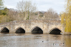 Bakewell Bridge Royalty Free Stock Photography