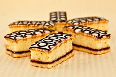 Bakewell cakes Royalty Free Stock Photography