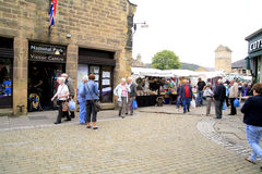 Bakewell, Derbyshire Obrazy Royalty Free