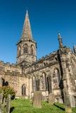 Bakewell-Kirche Stockfotografie