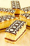 Bakewell-Kuchen Stockbild