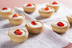 Bakewell Pastries Royalty Free Stock Photos