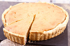 Bakewell pie Stock Photography