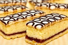 Bakewell slices Stock Photos