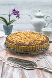 Bakewell tart Stock Photography