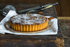 Bakewell tart Royalty Free Stock Images