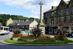 Bakewell village centre. Royalty Free Stock Photo
