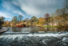 Bakewell Waterfall Royalty Free Stock Photo