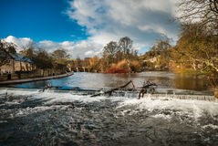 Bakewell Waterfall Royalty Free Stock Image