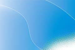 bakground μπλε γραμμές σημείων Στοκ εικόνα με δικαίωμα ελεύθερης χρήσης
