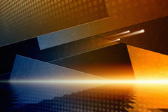 Bakground abstracto del techno Imagenes de archivo