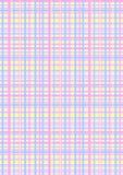 Bakground met het patroon van de pastelkleurplaid Stock Foto