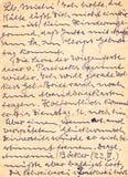 bakgrund är kan fragment tyskt använt handskrivet gammalt för bokstav skrivet Kan vara Arkivfoto