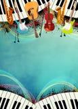 bakgrund är kan olika använda illustrationmusikavsikter Royaltyfria Foton