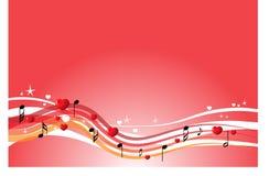 bakgrund är kan olika använda illustrationmusikavsikter Royaltyfri Foto
