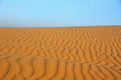Bakgrund av öknen Arkivbilder