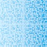 Bakgrund av blåa prickar på en vit färg Royaltyfri Foto