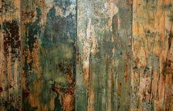 Bakgrund av brädena av det åldrigt brädet skrapade trä Royaltyfria Foton