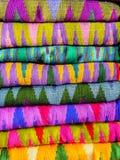 Bakgrund av Burmese silke 2 Royaltyfria Bilder