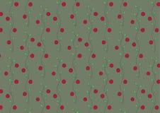 Bakgrund av cranberries Royaltyfri Foto