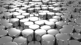 Bakgrund av cylindrar
