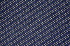 Bakgrund av den blåa och vita plädtorkduken royaltyfri bild