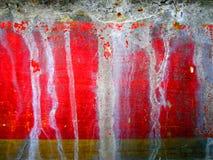Bakgrund av den färgrika metallväggen med vita fläckar Arkivbilder
