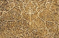 Bakgrund av den forntida snäckskalsarbetet Royaltyfria Foton