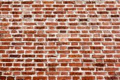 Bakgrund av den gammala tegelstenväggen Arkivfoto