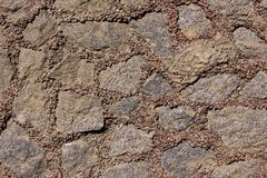 Bakgrund av den naturliga stenen Royaltyfri Bild