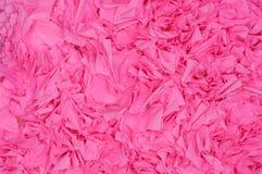 Bakgrund av den rosa närbilden för pappers- blomma royaltyfria foton