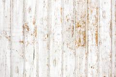Bakgrund av den sjaskiga målade träplankan arkivfoto