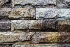 Bakgrund av den smutsiga tegelstenväggen för gammal tappning Arkivfoton